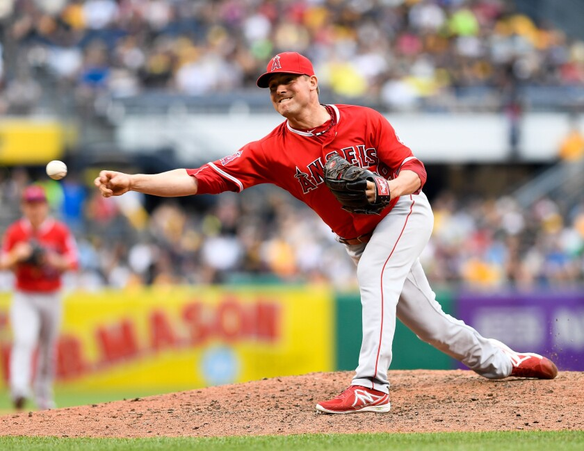 Angels reliever Joe Smith's days as an Angel could be numbered with the trade deadline approaching.