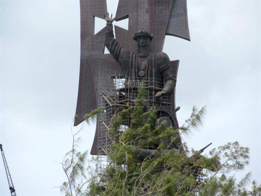 El Ayuntamiento de San José (California) decidió el martes por la noche, tras un largo e intenso debate, retirar de sus instalaciones una estatua de Cristóbal Colón, informaron hoy medios locales. EFE/Archivo