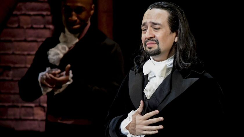 """Hamilton"" creator Lin-Manuel Miranda soon will be part of the Smithsonian National Portrait Gallery's ""Recent Acquisitions"" exhibition."
