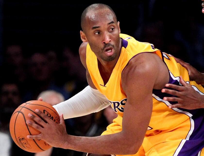 best website 3b9b9 f1b53 Kobe Bryant documentary to air in February on Showtime - Los ...