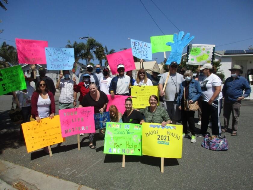 CARLSBAD: Community walk raises awareness about mental illness