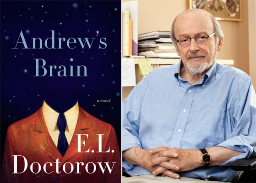 """E.L. Doctorow, author of """"Andrew's Brain."""""""