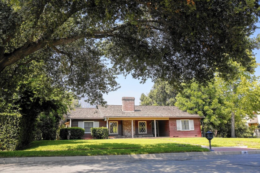 A 1940s home on East Orange Grove Avenue in Arcadia is set to be torn down and replaced by a larger, multi-story home.