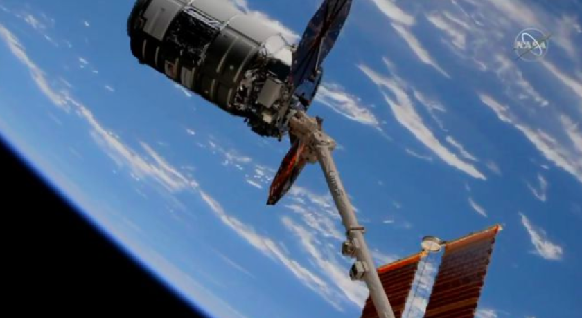 NASA astronaut Jessica Meir helped capture the Cygnus resupply vehicle on Nov. 4 from her perch on the International Space Station.