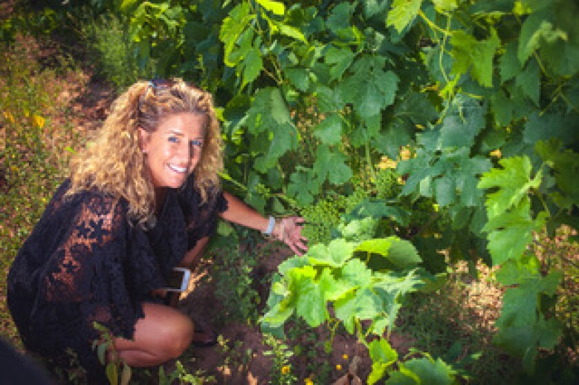 La Jollan Marina Elettra Snow selects Italian wines to import to customers of her DOCG Imports.