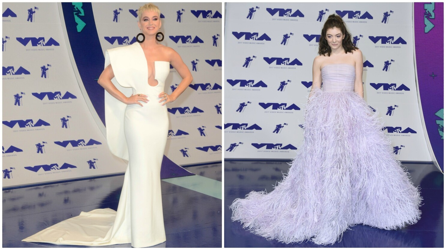 Katy Perry And Lorde Light Up The Fashion At The Mtv Video Music Awards Los Angeles Times
