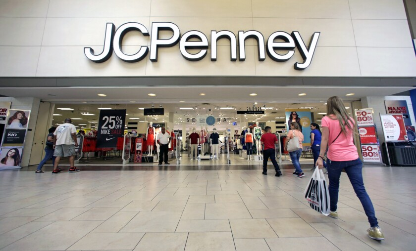 Mall-based retailers, like J.C. Penney, reported disappointing holiday sales.