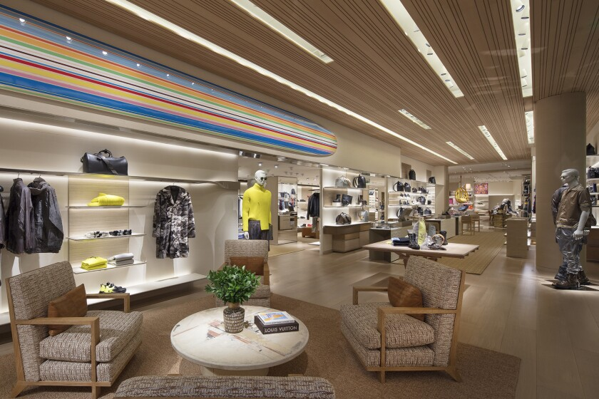 Louis Vuitton recently renovated their South Coast Plaza store in Costa Mesa. In honor of such, the
