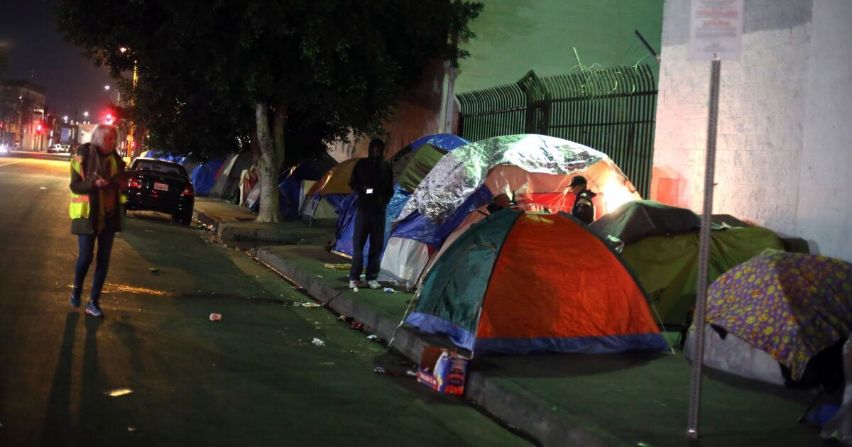 Are many homeless people in L.A. mentally ill? New findings back the public's perception