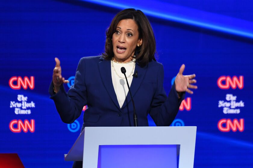 California Senator Kamala Harris