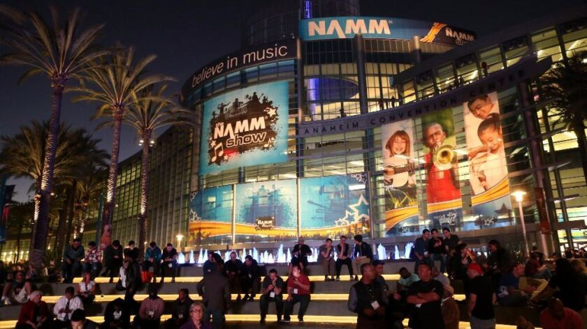 Carlsbad-based National Association of Music Merchants has announced that its annual convention will be held virtually.