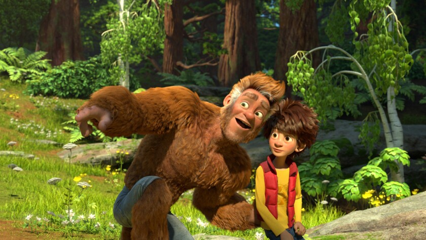 "Chris Parson voices Bigfoot and Pappy Faulkner is Adam in the movie ""The Son of Bigfoot."""