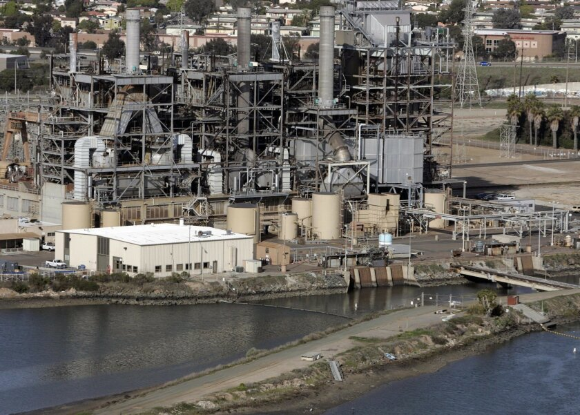Dynegy Inc. says it would not be worth it to install cooling towers at its Chula Vista facility.