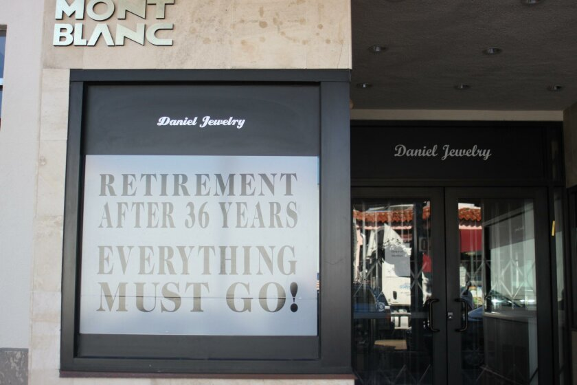 Daniel Jewelry at 1241 Prospect St. will close as soon as all its inventory is sold.