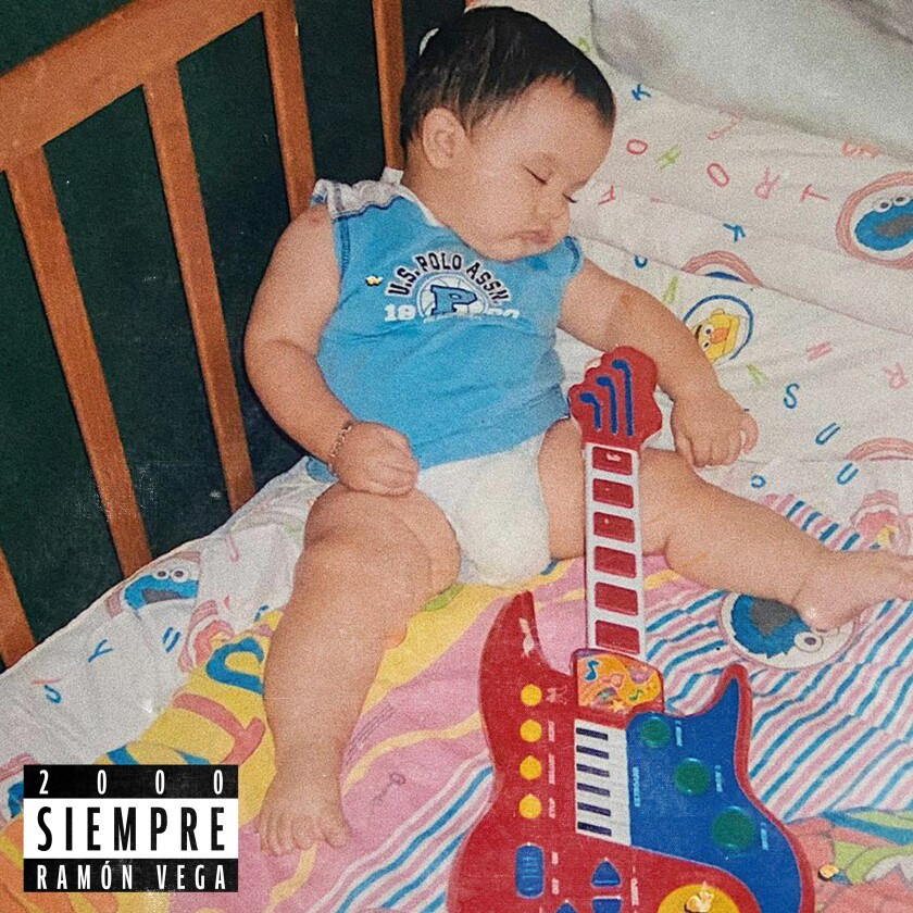 En esta imagen proporcionada por Sony Music Latin, la portada del EP debut de Ramón Vega