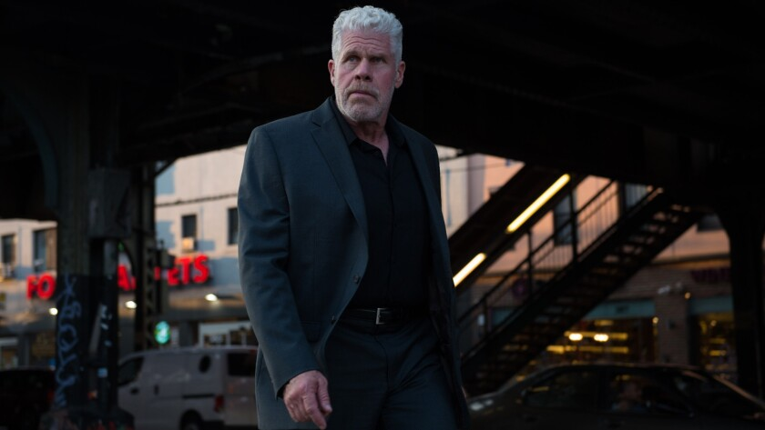 Ron Perlman as Asher in ?ASHER? a film by Momentum Pictures. Credit: Momentum Pictures