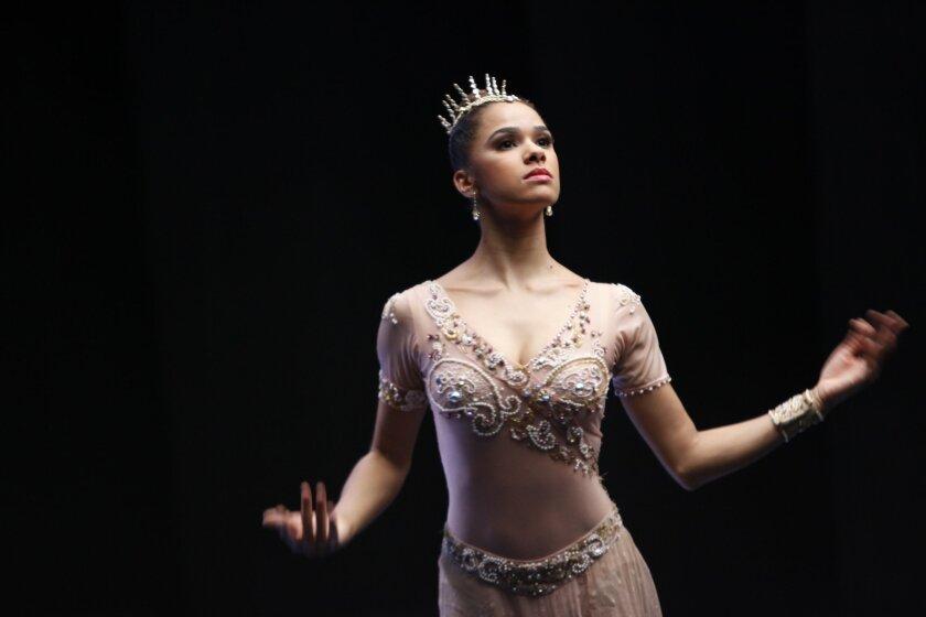 """Misty Copeland appears in """"A Ballerina's Tale."""""""