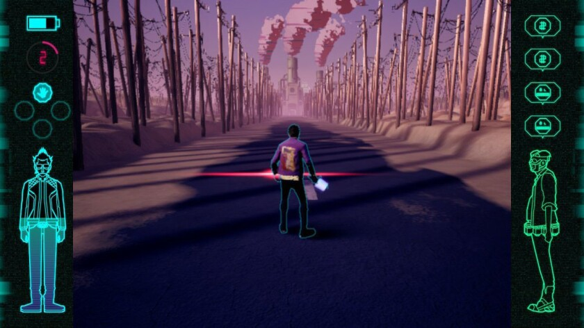 """A scene from """"Travis Strikes Again: No More Heroes."""""""