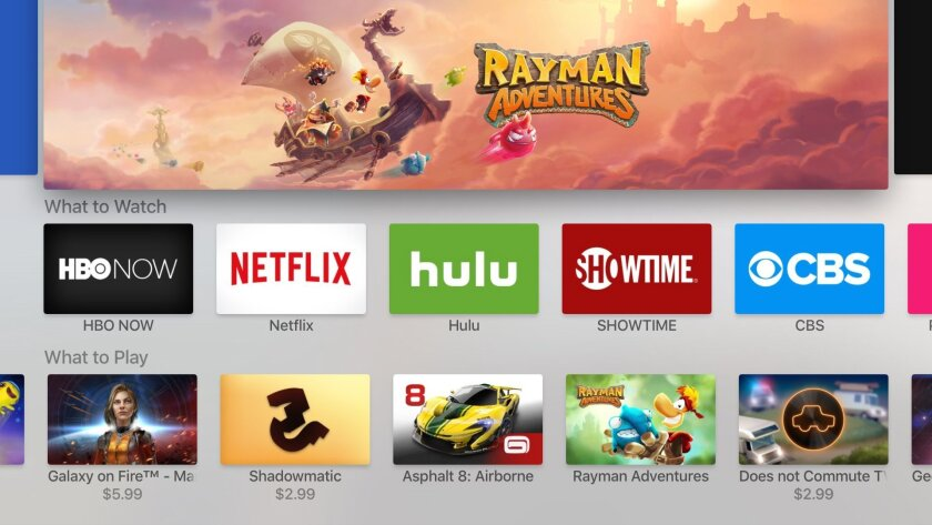 Review: Apple TV brings iPhone-like apps to the big screen