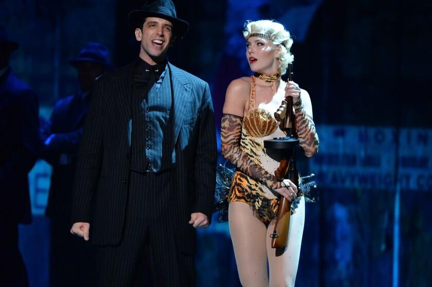Nick Cordero at the Tony Awards