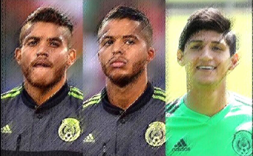 Jonathan Dos Santos, Giovani Dos Santos y Alan Pulido, entre los convocados.