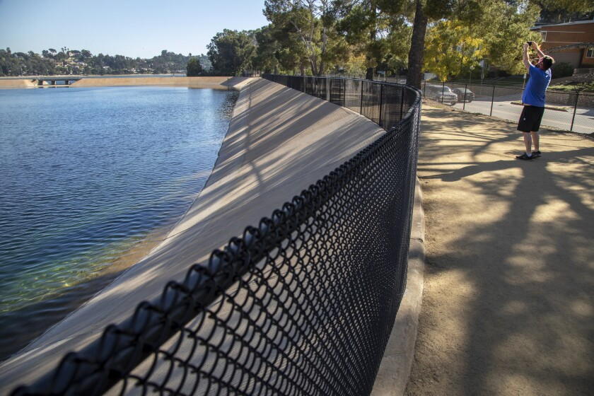 L.A. Walks to Silver Lake Reservoir