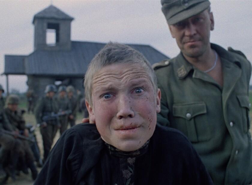"Aleksei Kravchenko in the movie ""Come and See."""