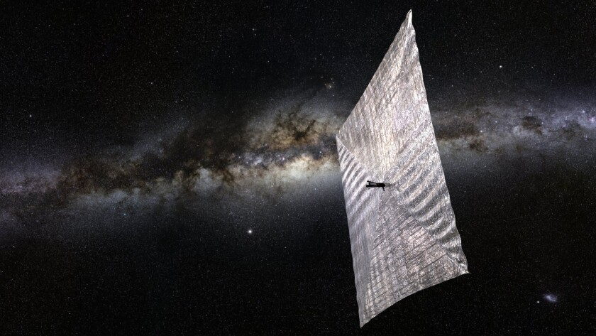 The Planetary Society's LightSail, funded in part by a Kickstarter campaign, will aim to demonstrate that controlled solar sailing is possible.