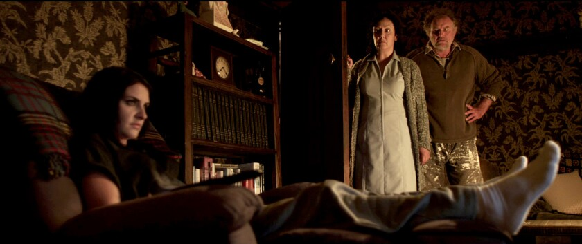 """A scene from """"Housebound."""""""