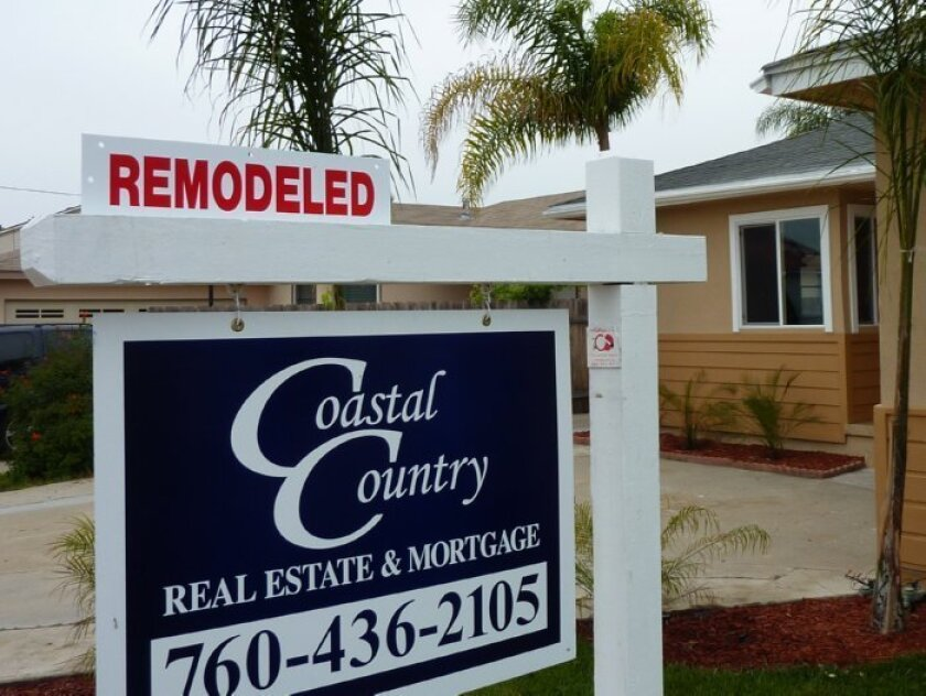 San Diego home prices are on the rise. Sellers of this 50th Street home promote the remodeling they did to make the home more attractive.
