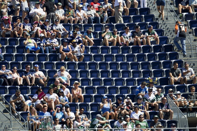 A remodeling or replacement of Qualcomm Stadium might require as much as a 65 percent contribution from the public.