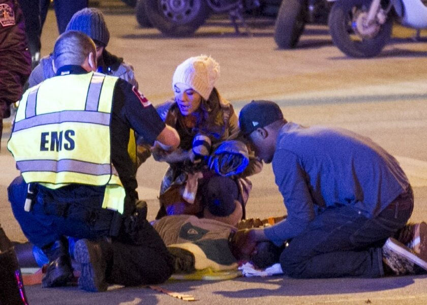 Suspected drunk driver plows into crowd at South by Southwest festival