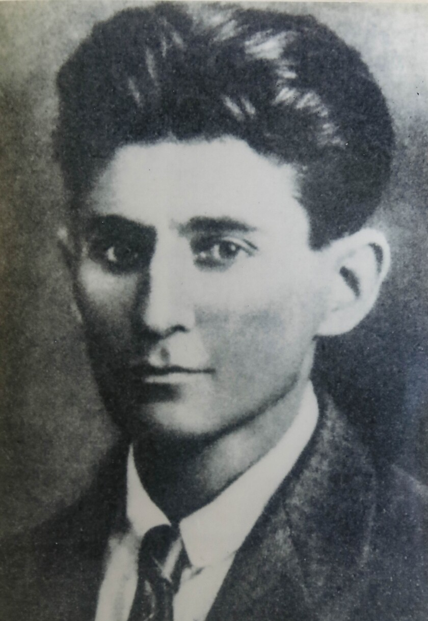 The writer Franz Kafka.