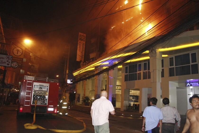 Thailand Hotel Fire