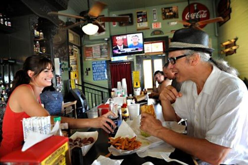 Seafood eateries in New Orleans