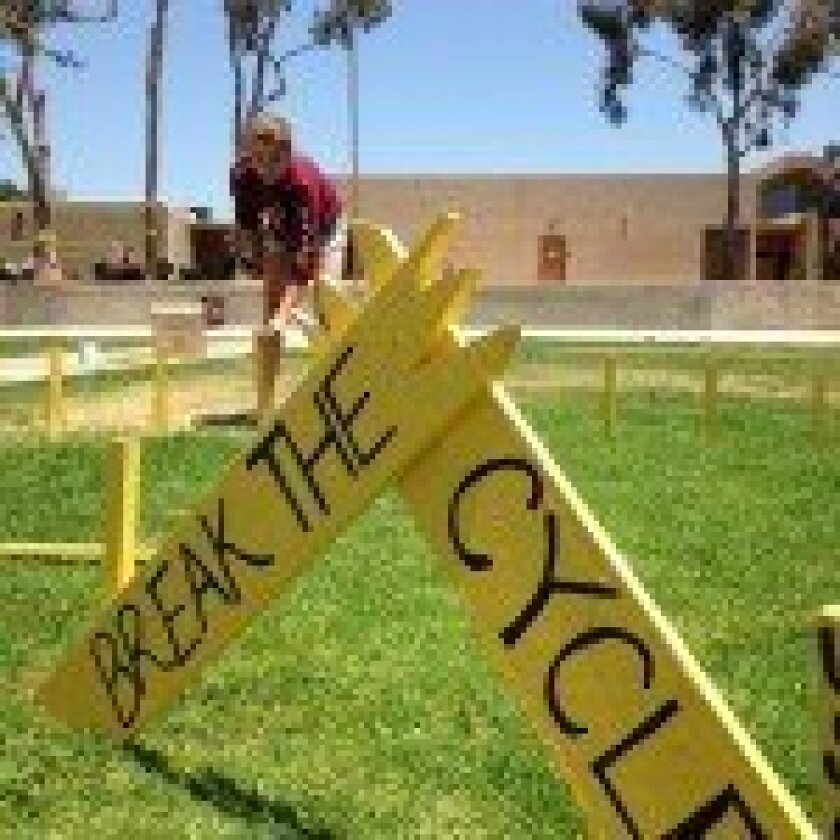 The Yellow Ribbon Week art installation at Torrey Pines. Courtesy photo