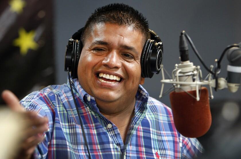 "Ricardo ""El Mandril"" Sanchez is moving to a new radio station"