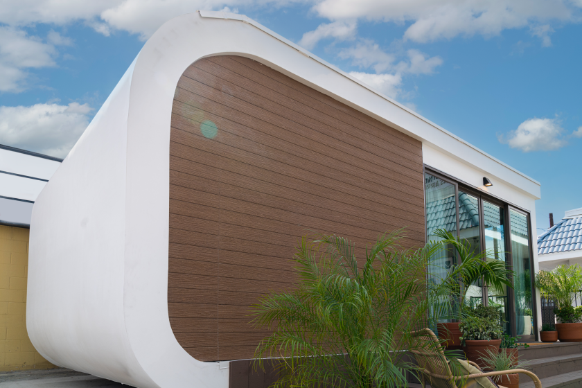 A 3D-printed accessory dwelling unit will be on display through November in Garden Grove.