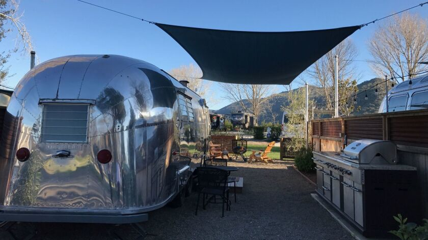 With these hotels, you can experience Airstream travel