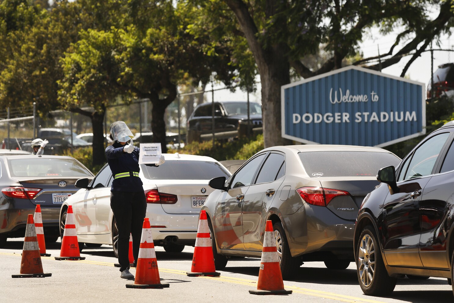 Coronavirus Testing Shortages Worsen Across L A Los Angeles Times
