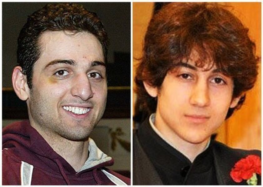 Tamerlan Tsarnaev, 26, left, who was killed in a confrontation with police, had a U.S. citizenship application pending. His brother Dzhokhar, 19, became a citizen on Sept. 11, 2012.