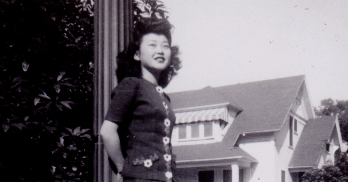 Column One: She was a test case for resettling detainees of Japanese descent — and unaware of the risk