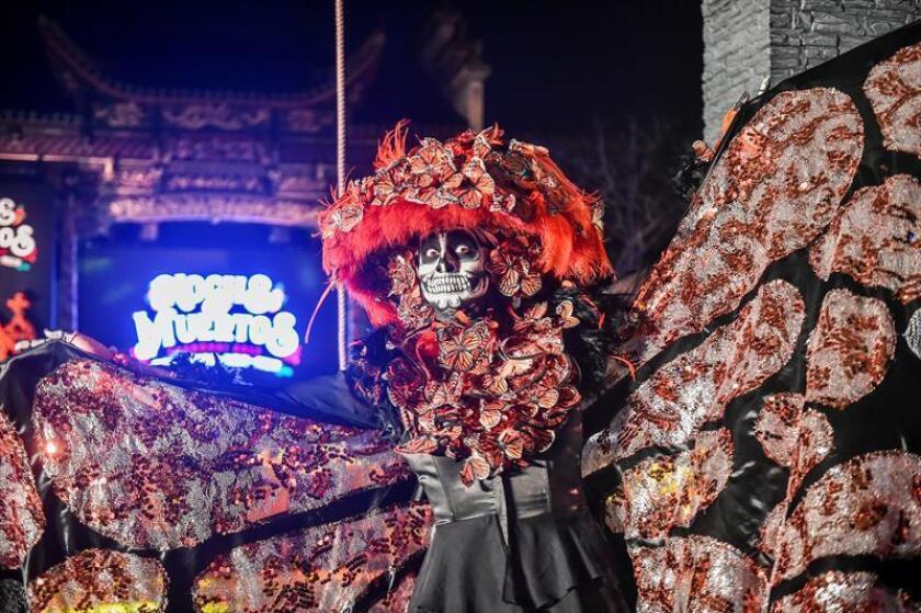 Michoacán lleva a Shanghái el Día de Muertos para atraer al turismo chino