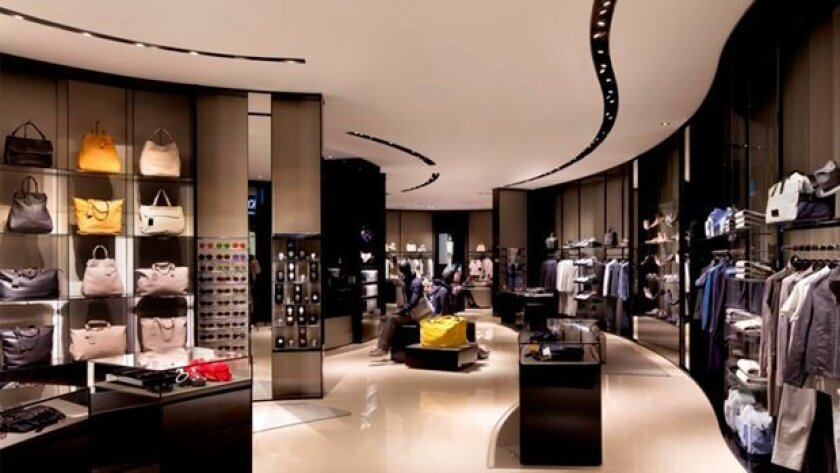 San Diego's first Emporio Armani store at Fashion Valley