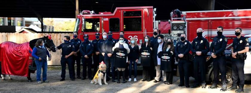 Family donates to animal shelter's Therapeutic Riding Program