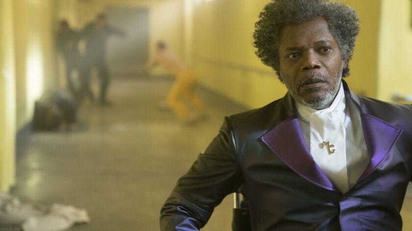 "Samuel L. Jackson in M. Night Shyamalan's ""Glass."""