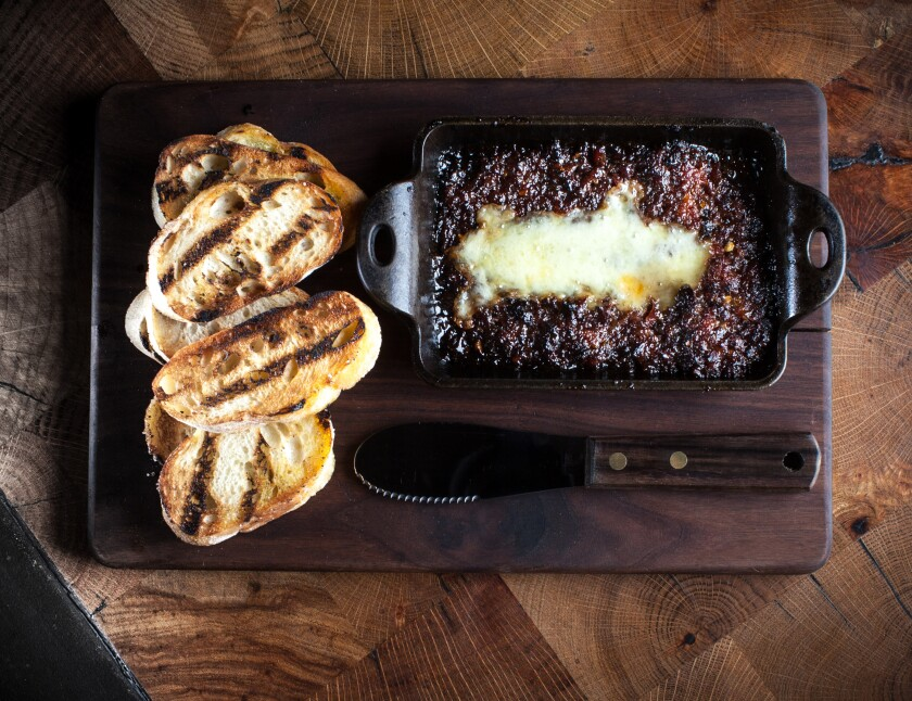 The bacon jam at Carson Kitchen.