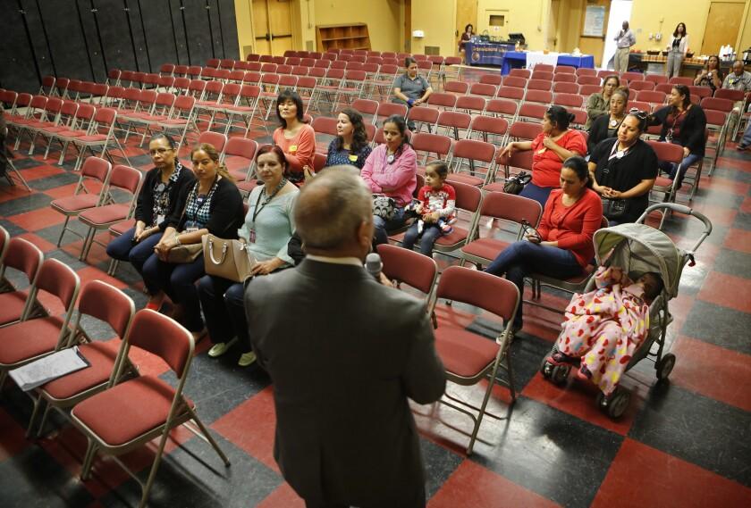 LAUSD superintendent forum