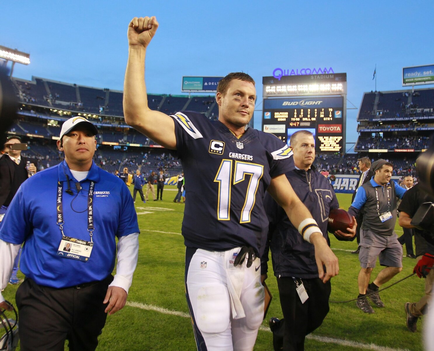Column Philip Rivers Was Last Link To Chargers San Diego Era The San Diego Union Tribune