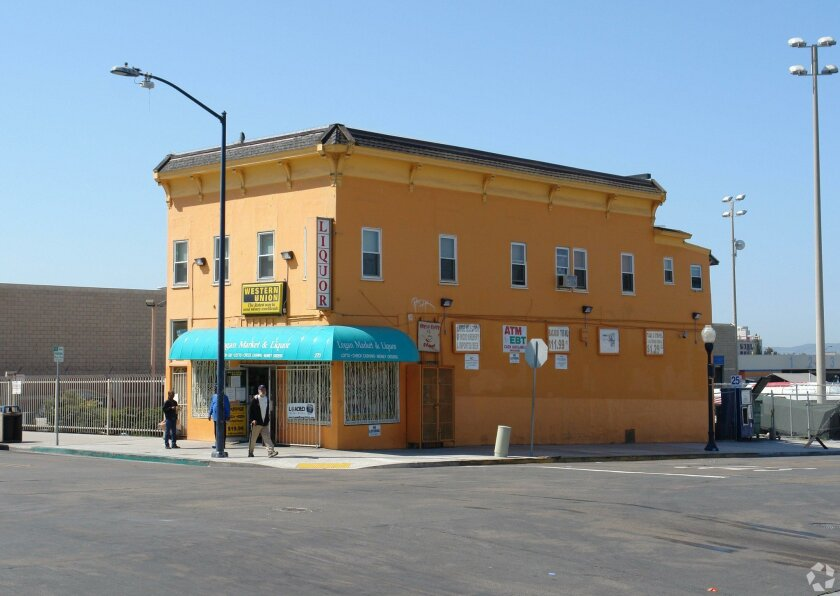 User Upload Caption: The Logan Market & Liquor store at 268-70 16th St. is one of the privately owned properties needed to complete the stadium-convention center annex site.
